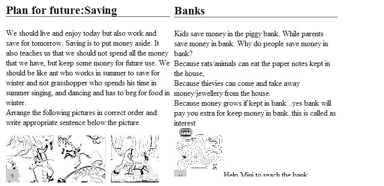 Workbook for kids by bemoneyaware