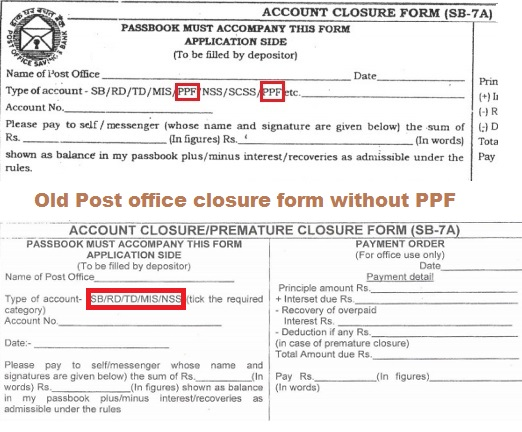 How to close ppf account before maturity be money aware blog - Open a post office bank account online ...