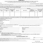 DA-3 form for change nomination in bank account