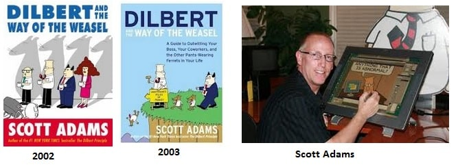 Dilbert and the way of weasel book by Scott Adams