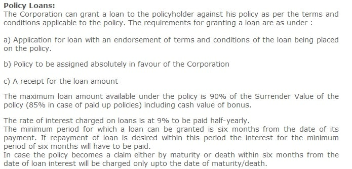 Discontinue life insurance policy surrenderpaid uploan lic loan against policy conditions spiritdancerdesigns Gallery