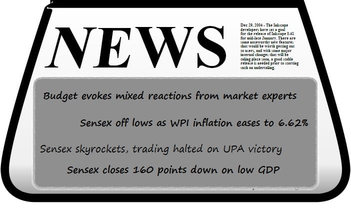 News that moves the stock market!
