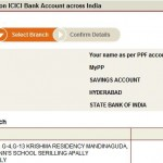 Transfer from From ICICI bank to PPF account in SBI