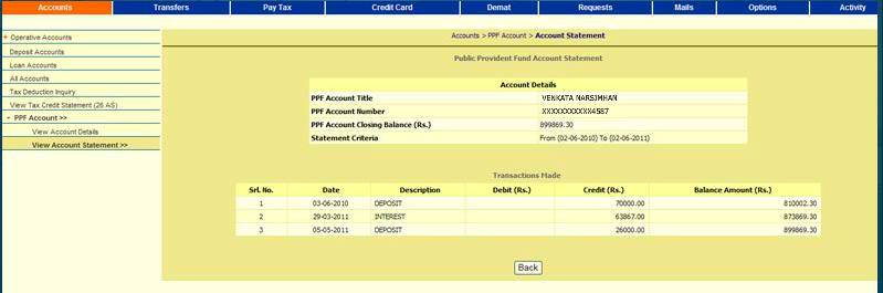 How to Deposit in PPF amount
