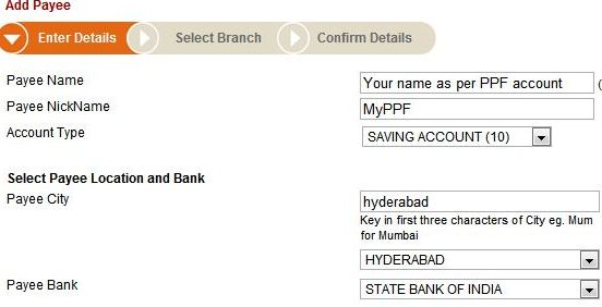 sbi money transfer form pdf