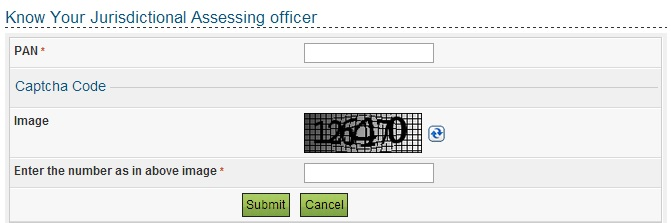 How to find Jurisdictional Assessing Officer for Income Tax