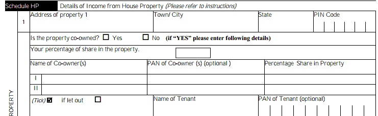 Details of Owners in House property