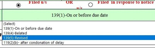 File belated ITR under sections 139(4) after due date