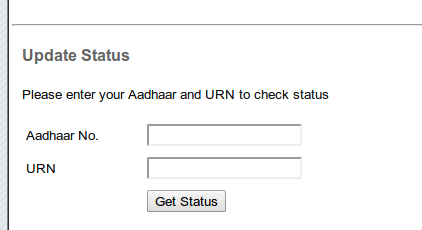 How to update or correct details in aadhaar check aadhaar change request status altavistaventures Image collections