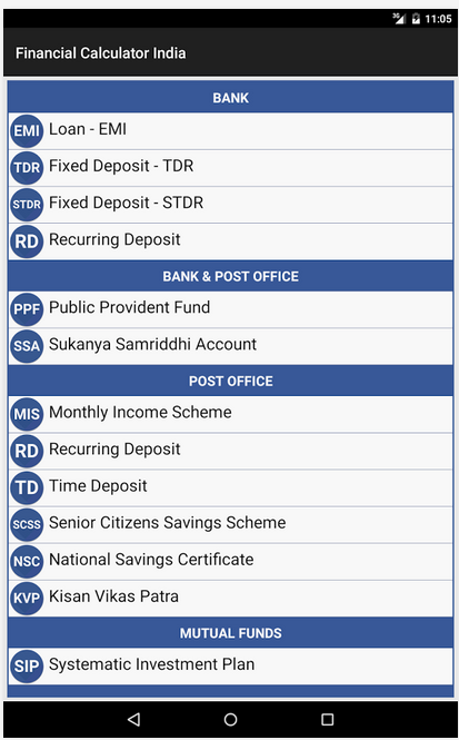 Financial Apps for India