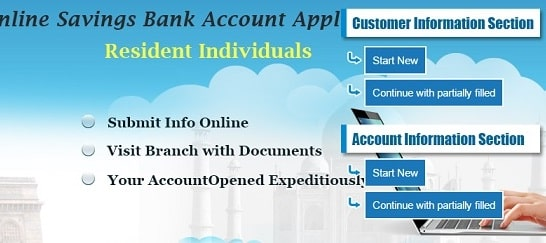 sbi online account opening with zero balance