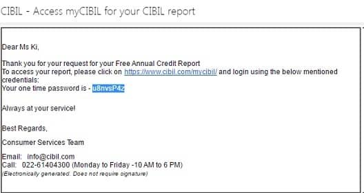 how to receive a free credit report