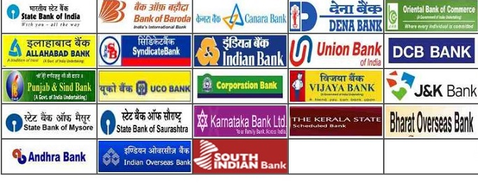 list of banks in india with logos 12000 vector logos