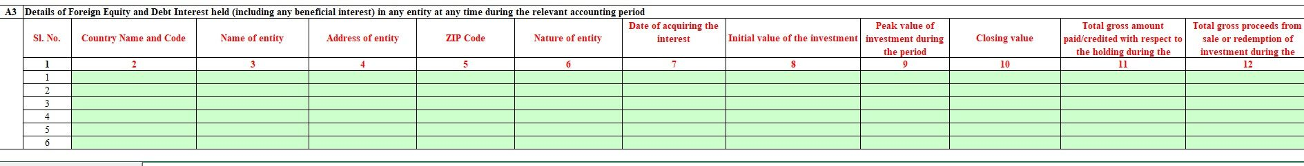 Declare RSU/ESPP in Foreign Assets in ITR