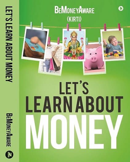 Lets Learn About Money bemoneyaware Book front cover