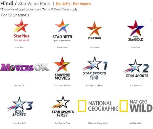 Cable and DTH New Rates: Prices, Suggested Packs,FTA Channels