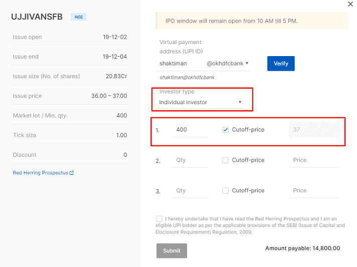 How to apply for an IPO retail investors on Zerodha