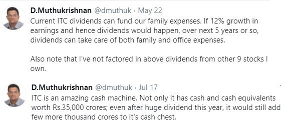 Why Dividend's are important